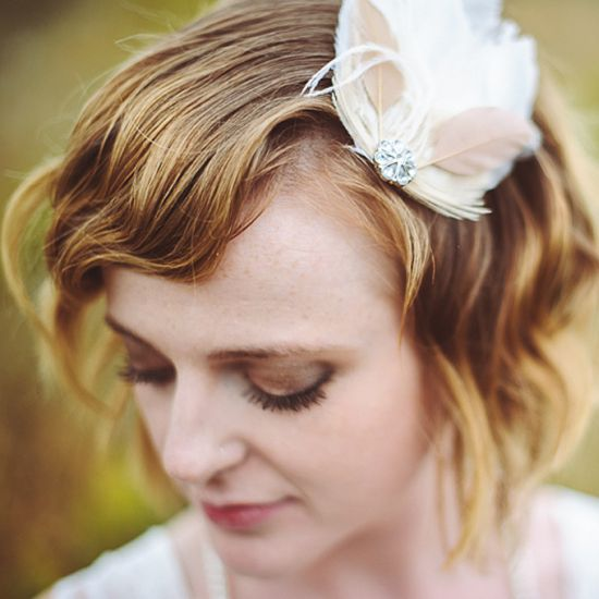 Wedding Hairstyles Photos: 59 Stunning Wedding Hairstyles For Short Hair 2017