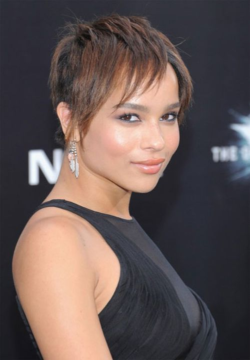 Zoe Kravitz short hair
