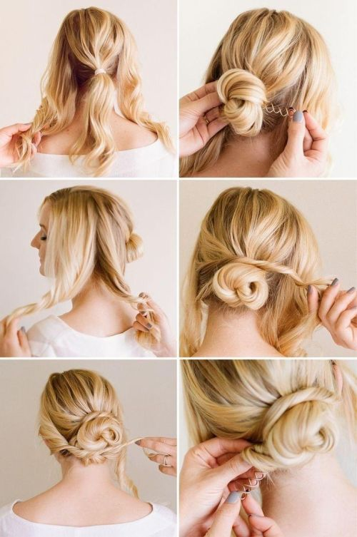 54 Cute & Easy Updos for Long Hair When You\'re in Hurry