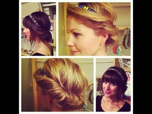 easy updo hairstyles for long hair 1