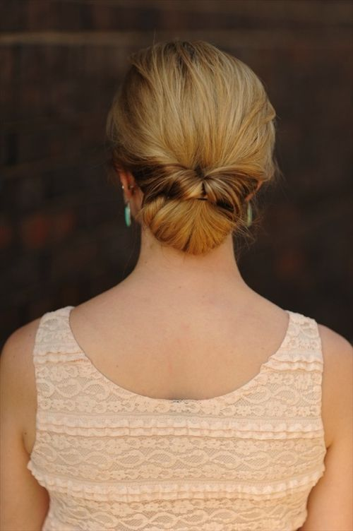 easy updo hairstyles for long hair 2