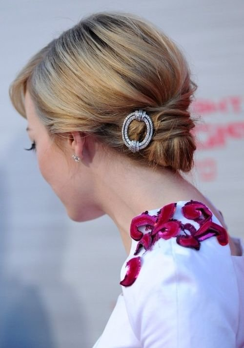 easy updo hairstyles for long hair 4
