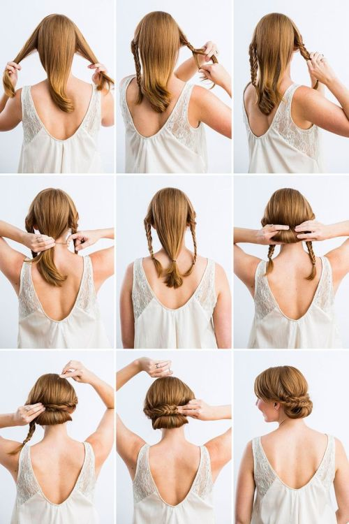 61 Cute Easy Updos For Long Hair When You Re In Hurry