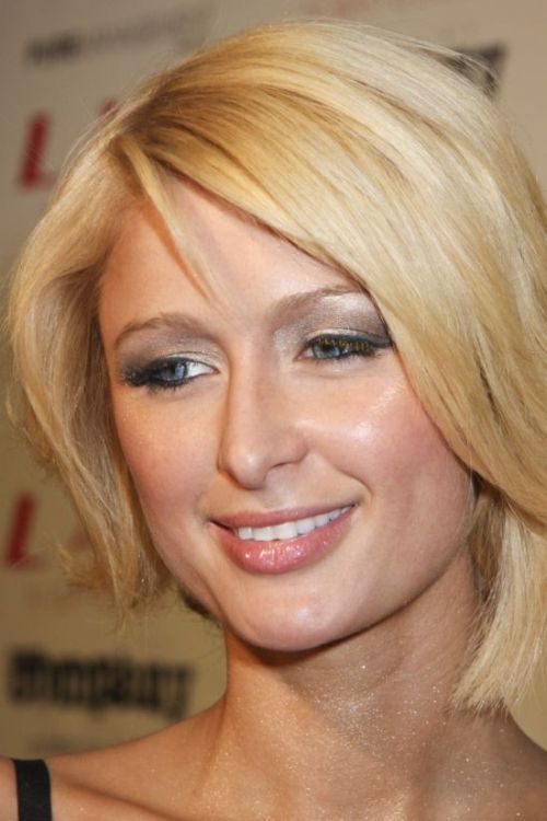 Paris Hilton cute bob cut
