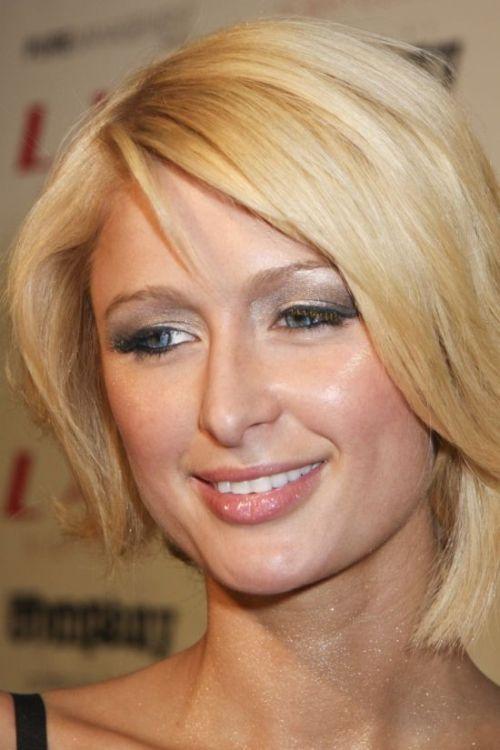 Paris Hilton cute bob cut