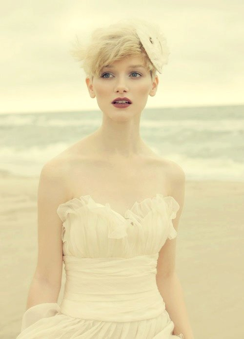 Tremendous 55 Stunning Wedding Hairstyles For Short Hair 2016 Short Hairstyles For Black Women Fulllsitofus