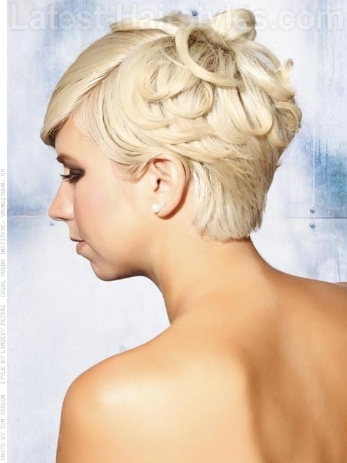 Brilliant 55 Stunning Wedding Hairstyles For Short Hair 2016 Hairstyles For Men Maxibearus