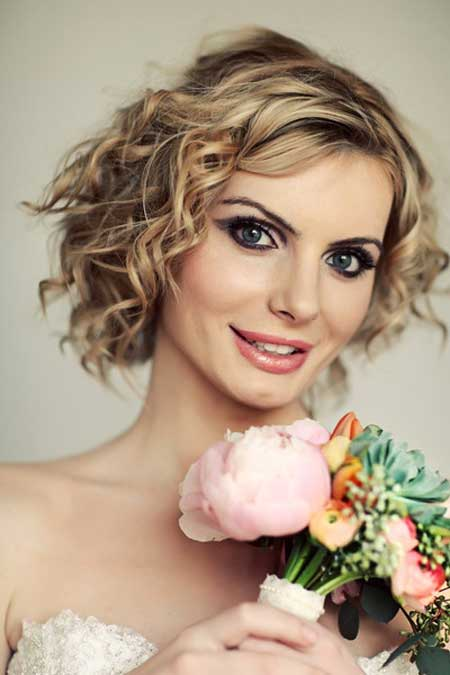 59 Stunning Wedding Hairstyles for Short Hair 2017 - Part 2