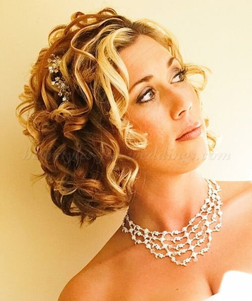 Phenomenal 55 Stunning Wedding Hairstyles For Short Hair 2016 Hairstyles For Men Maxibearus