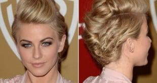 Soft tease prom hair