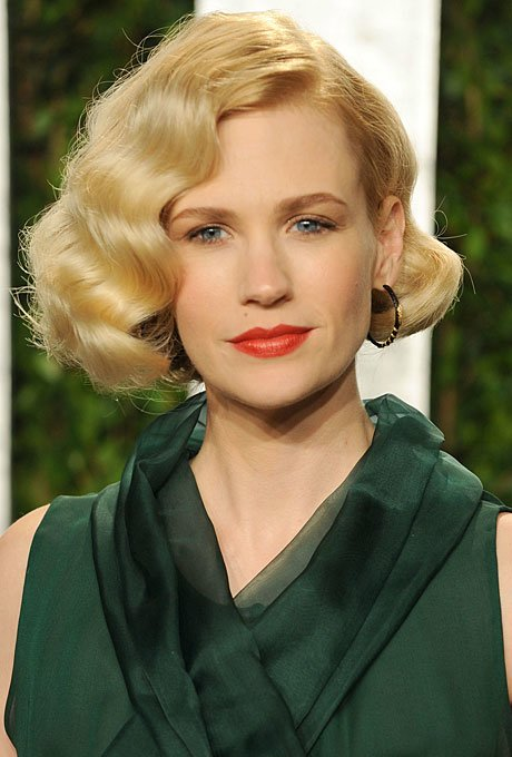 wavy bob hairstyle for wedding5