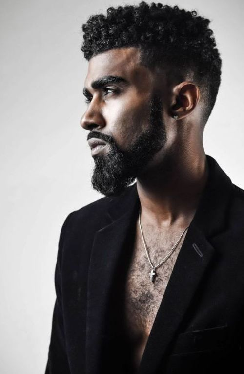 Black Men Beard Styles 11