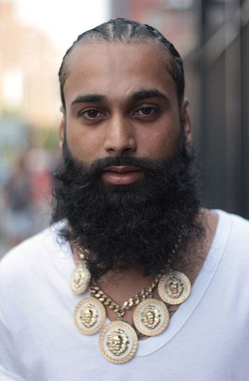 Black Men Beards