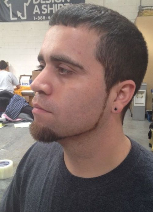 Chin Curtain Beard Design