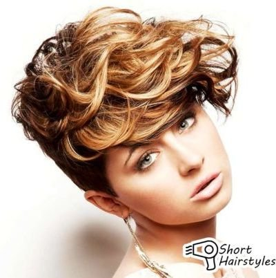 Phenomenal 111 Amazing Short Curly Hairstyles For Women To Try In 2016 Short Hairstyles Gunalazisus