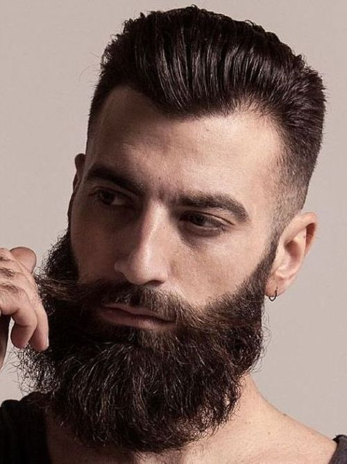 Excellent 20 Cool Full Beard Styles For Men To Tap Into Now Short Hairstyles For Black Women Fulllsitofus