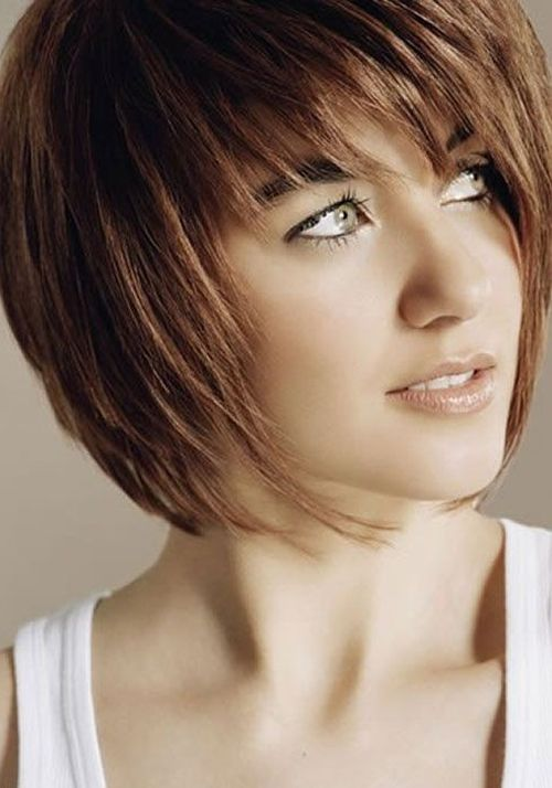 Cool Short Hairstyles 2015 For Young Teen Girls For Round Faces