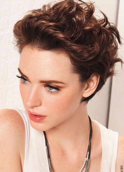 Terrific 111 Amazing Short Curly Hairstyles For Women To Try In 2016 Hairstyles For Women Draintrainus