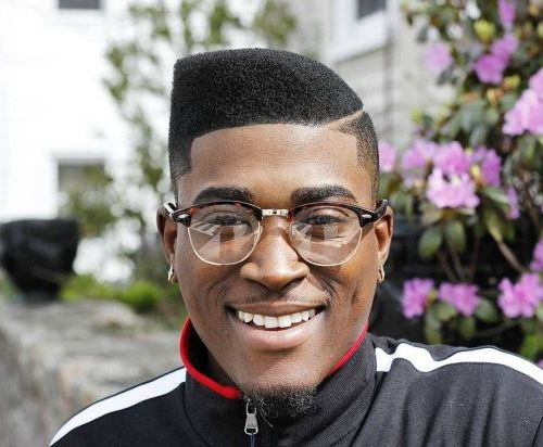 Curved Flat Top Haircut