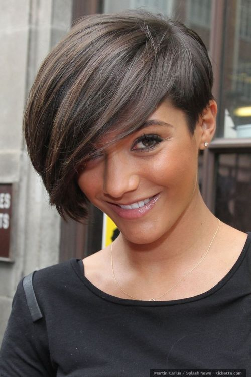 Cute Side Swept Pixie