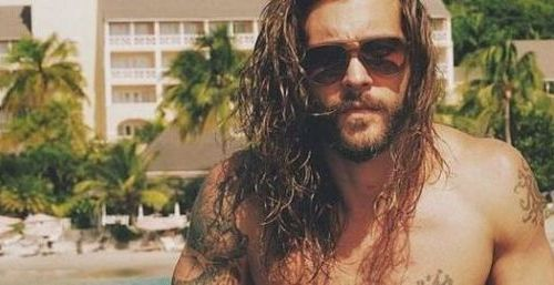 Full Beard with Long Hair