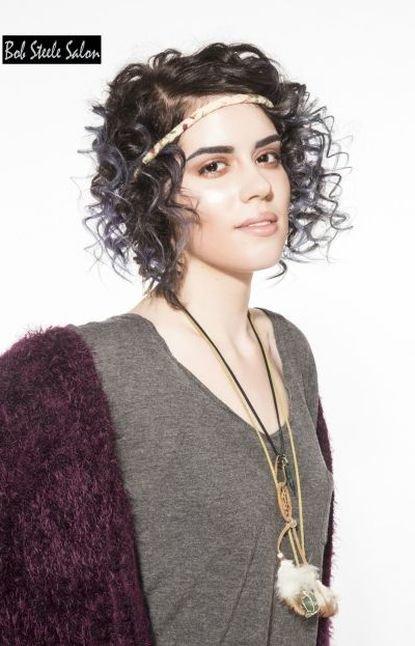 Hippie Style Headband Curls