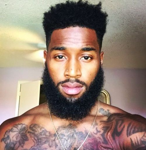 Hot Black Man With Beard