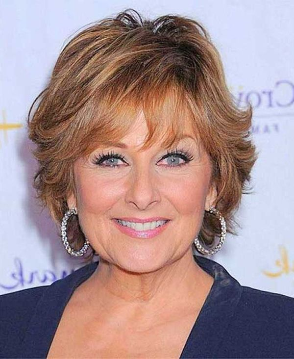 Layered Super Short Hair for Women Over 50