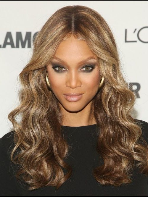 Light Blonde Highlighted Tousled Hair