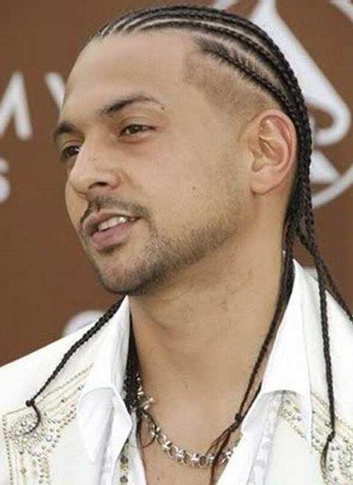 Swell White Male Braid Hairstyles Braids Hairstyles For Men Maxibearus