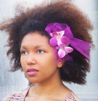 Natural Flowers Headband Look