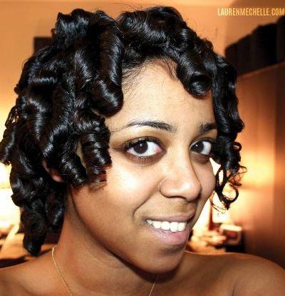 Short Spiral Curls