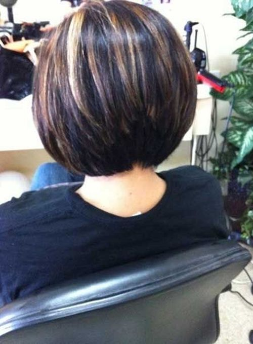 Short Thick Layered Bob