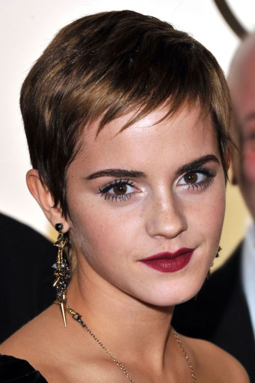 Side Swept Pixie for Thin Hair