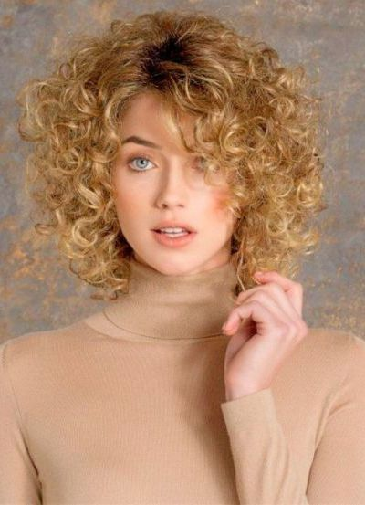 Spiral Curls for Thin Hair