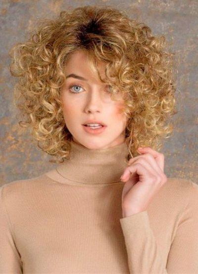 Spiral Curls for Thin Hair