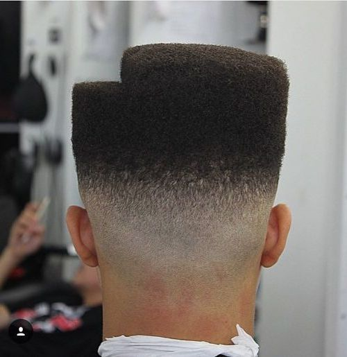 Stair Step Flat Top Haircut