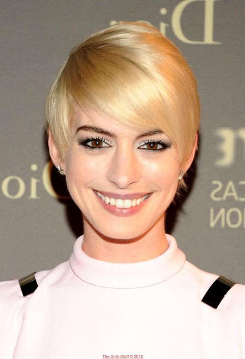 Sweet Blonde Pixie