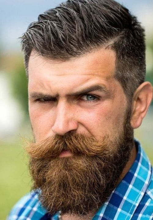 Unique beard styles for men