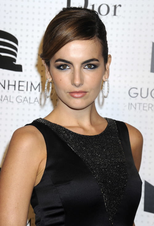 camilla belle eyebrows