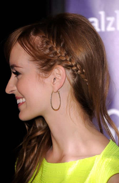 Cute side braid for thin hair