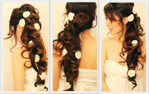 Hair extension for wedding