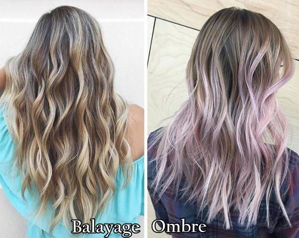 Balayage Vs ... Ombre Highlights
