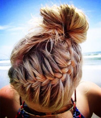 braids with bun