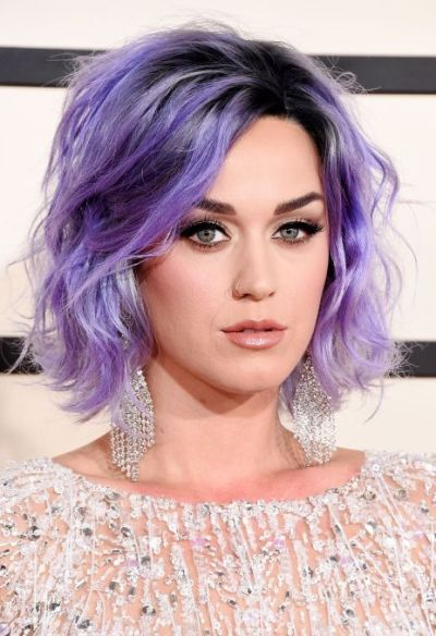 Cute lavender hair color for fair skin