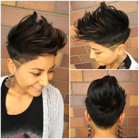 66 Shaved Hairstyles for Women That Turn Heads Everywhere - Girls Shaved Hairstyles