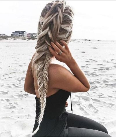extra long fishtail