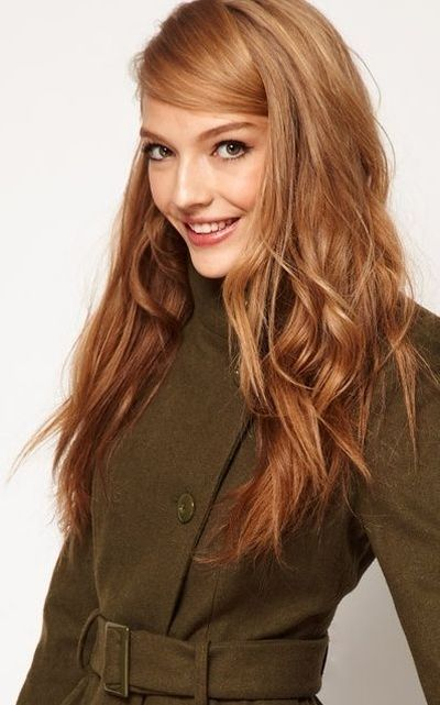 Golden brown hair color for fair skin