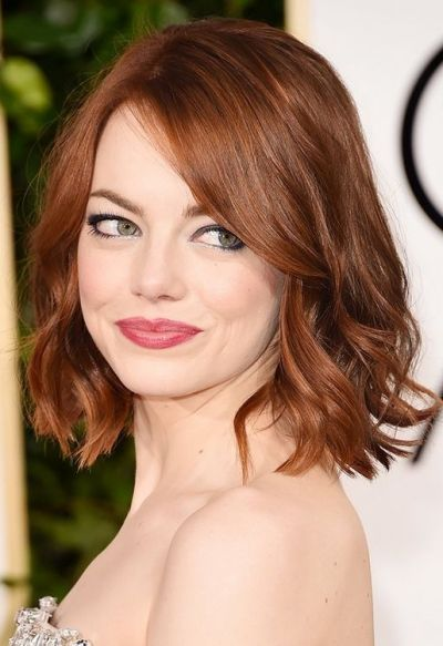 Reddish auburn hair color for fair skin
