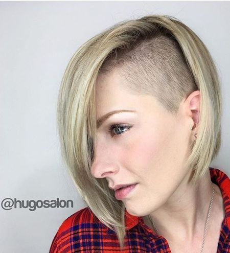 Shaved haircuts for women